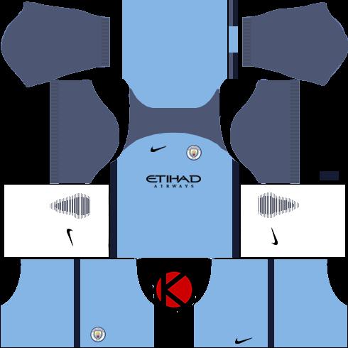 0320b6d382b Manchester City Kits 2016 2017 - Dream League Soccer 2017 - Kuchalana