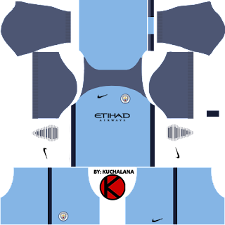 Manchester City Kits 2016/2017 - Dream League Soccer 2017