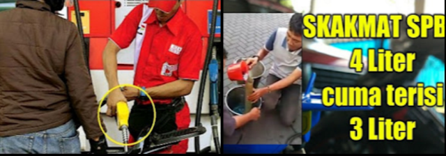Kecurangan SPBU di Jakarta ini Diungkap di Depan Banyak Saksi. Mereka Tak Berkutik