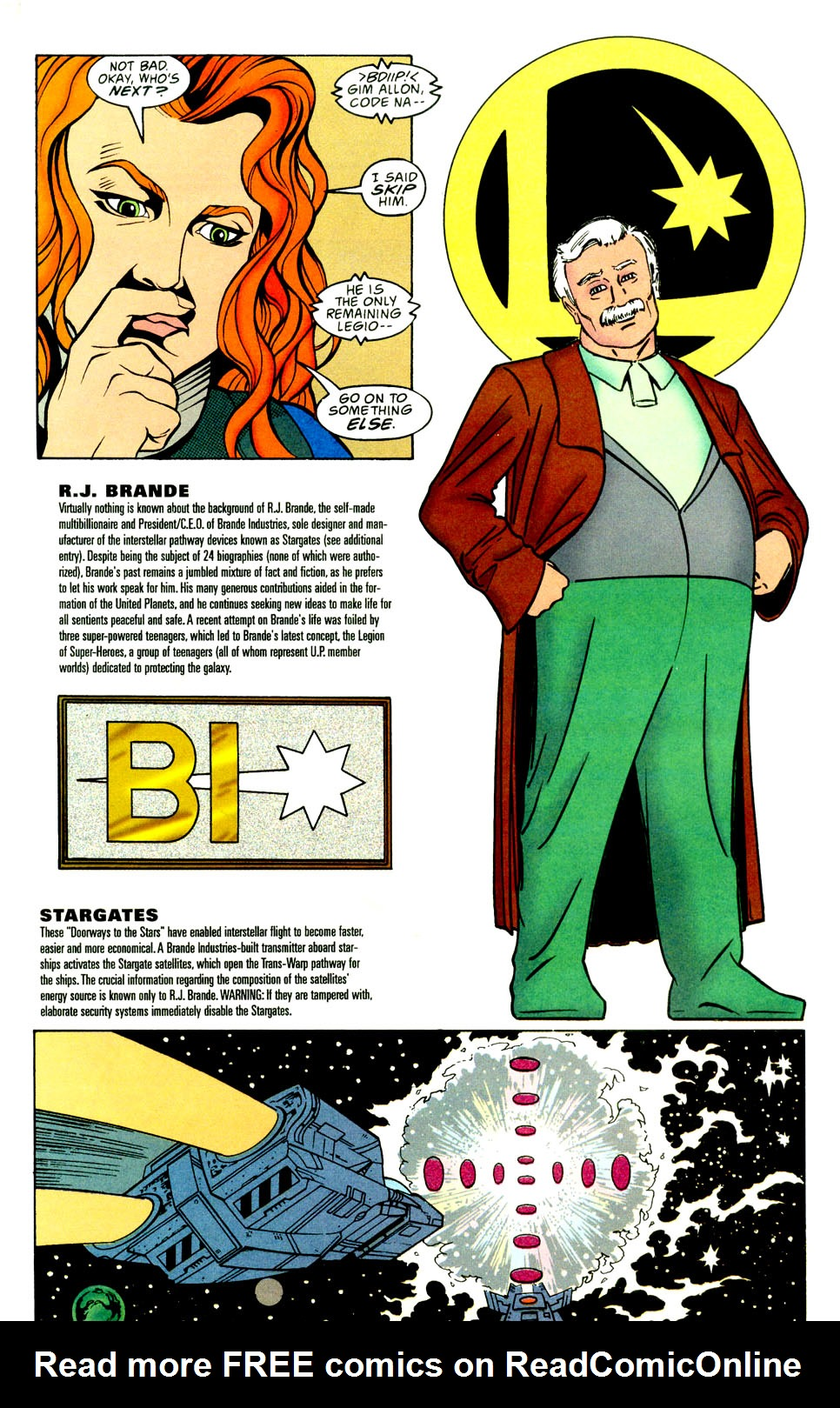 Legion of Super-Heroes (1989) _Annual_5 Page 33