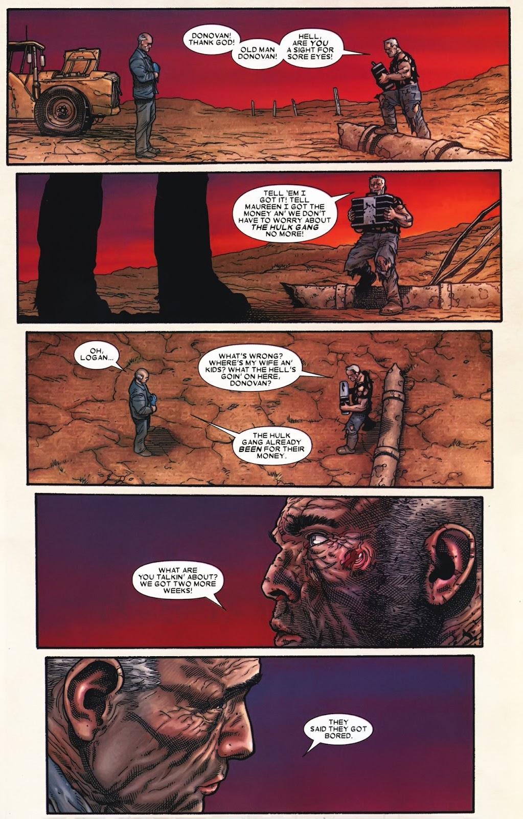Read online Wolverine (2003) comic -  Issue #72 - 24