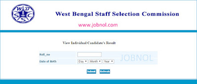 wbssc result check drf 15