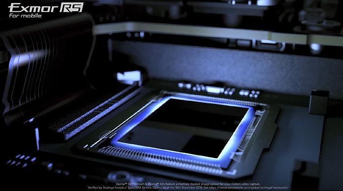 XPERIA XZ Premiumに搭載されたExmor RS for mobile
