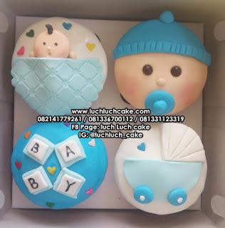 Cupcake Ulang Tahun Bayi 1 Bulan Surabaya - Sidoarjo