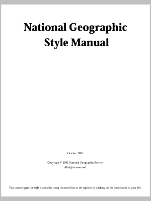 Unsolicited But Offered: Style Guides and Writing Today Part 1