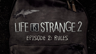 Life is Strange 2 Episode 2 - Rules Logo Wallpaper