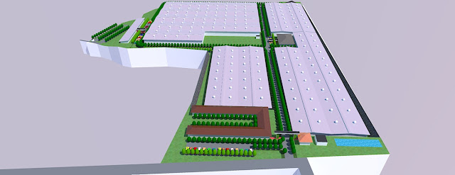 site plan industrial