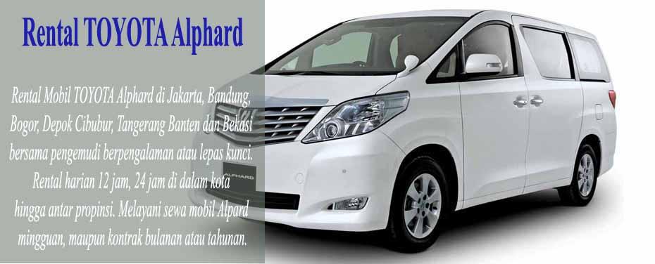 sewa mpbil Aplhard di Jakarta