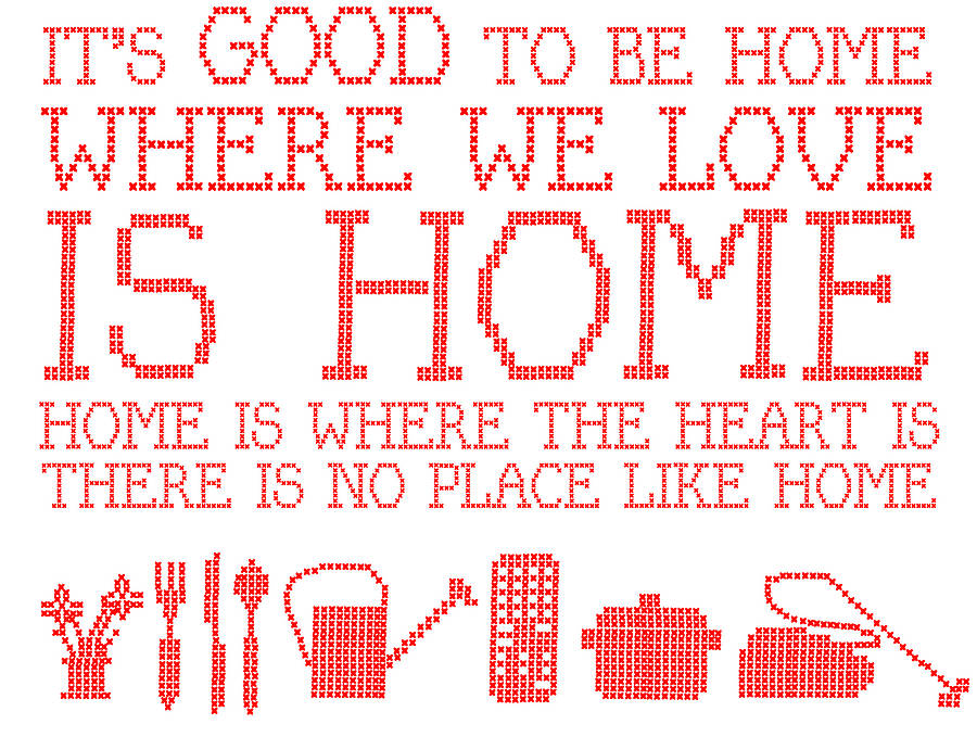 Life Is A JOurneY...: Home Sweet Home