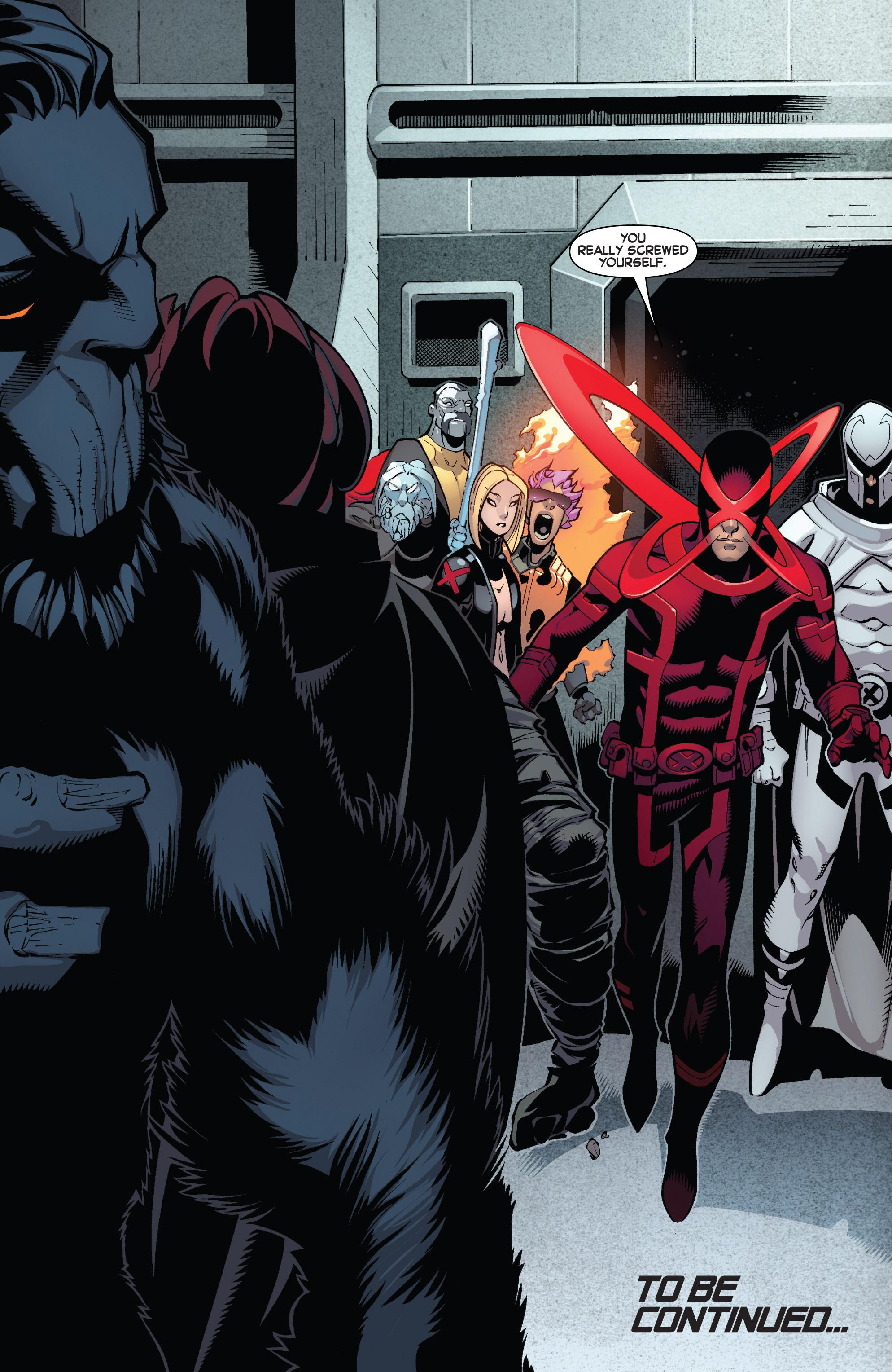 Read online Uncanny X-Men (2013) comic -  Issue #13 - 19