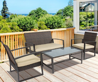 Best Choice Products 4pc Patio Furniture Set Cushioned Outdoor Wicker Rattan Garden Lawn Sofa Seat, Best Choice Products Rattan Wicker Sofa Sets, Outdoor Sofa Sets, Outdoor Sofas, Outdoor Furniture, Best Choice Products, Best Choice Products Wicker Sofa Sets, Outdoor Sofa Sets, Sofa Sets, Wicker Sofa Sets,