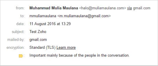 Membuat Alamat Email Dengan Domain Sendiri
