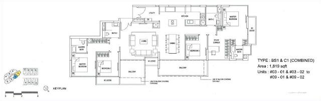 Goodwood Grand Combine Floor Plan