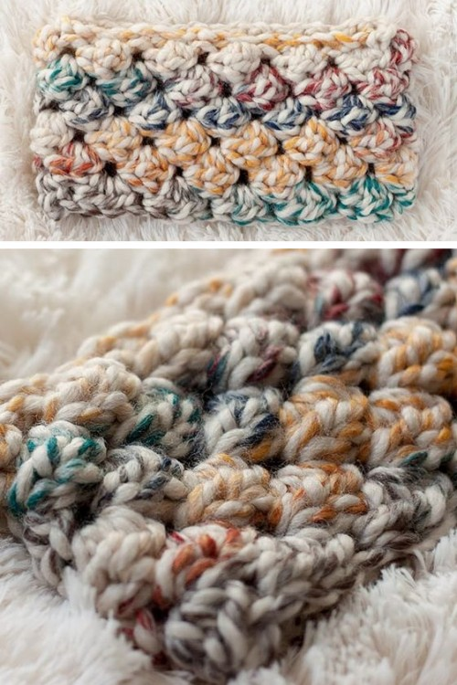 Puff Crochet Headband - Free Pattern