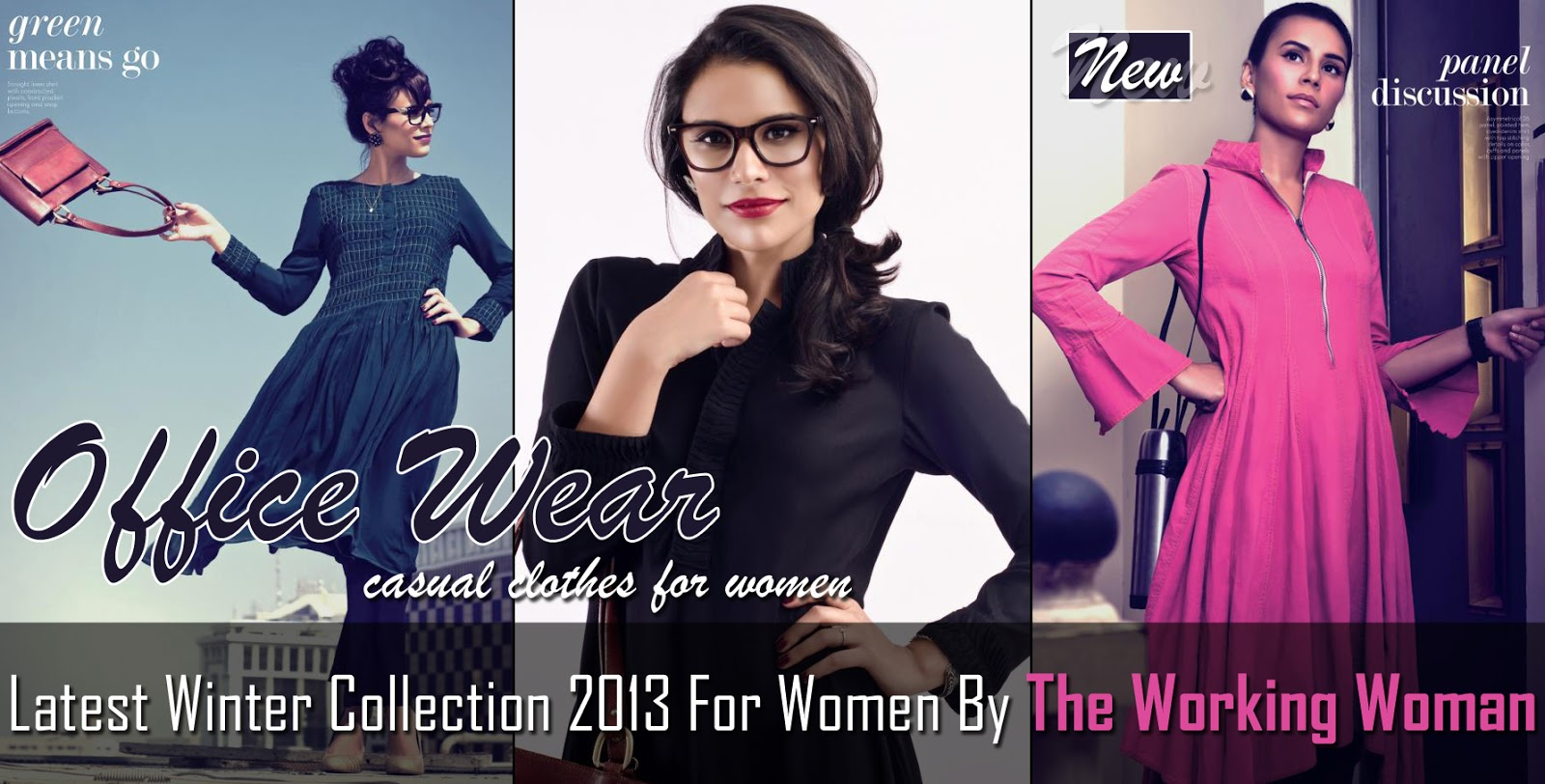 bc6fd7bfb59 Latest Winter Collection 2013 For Women By The Working Woman ...