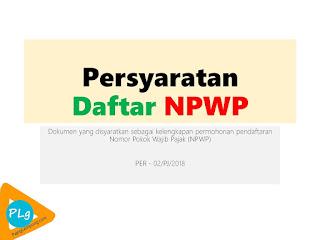 Syarat Pendaftaran NPWP untuk Istri (Wanita yang Sudah Menikah)