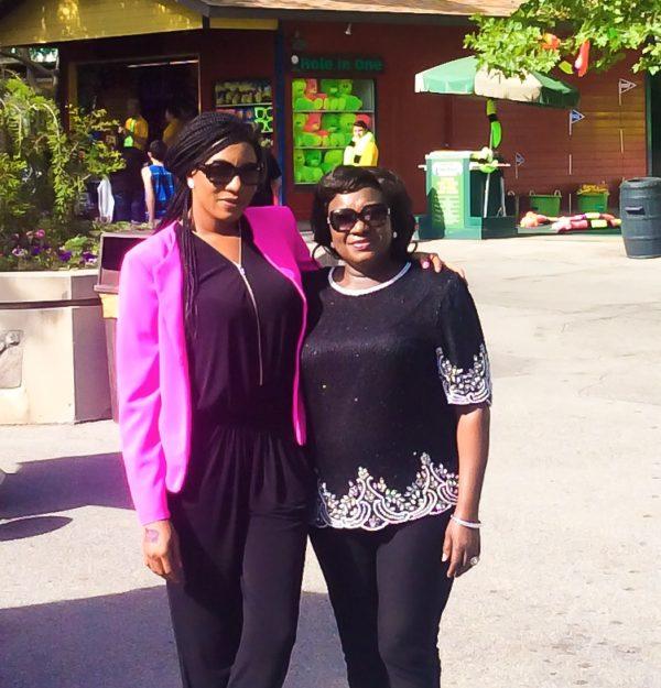 Nollywood Actress Chika Ike Loses Mum