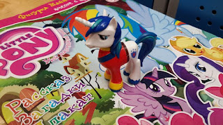 MLP Shining Armor Magazine Figure by Egmont