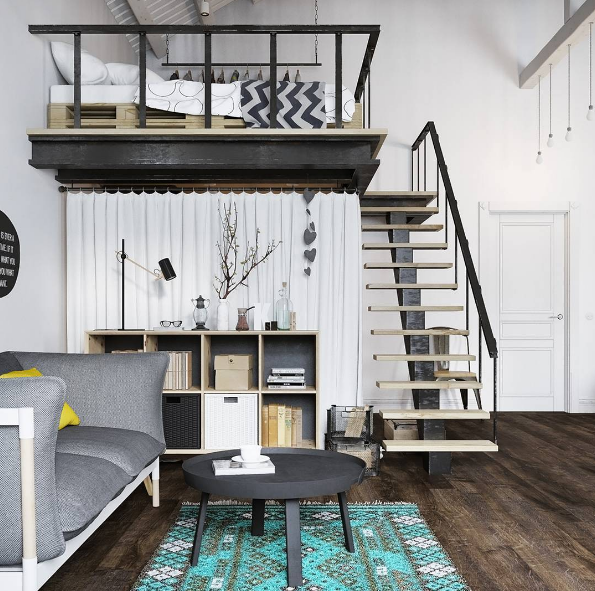 101 planos de casas los 20 dise os m s asombrosos de loft for Diseno de lofts interiores