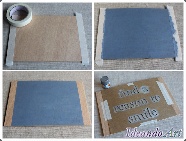 Tutorial lámina DIY chalk paint