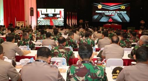 Kapolri Buka, Rapim TNI Polri 2019