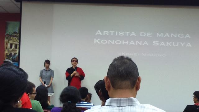 conferencia sobre el manga