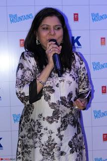Gracy Singh and Bappi Lahiri   Blue Mountain Music Launch IMG 0743.JPG