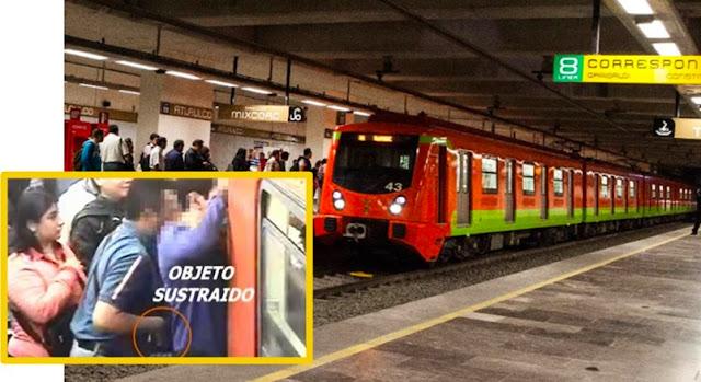STC informa que en 7 meses se registraron 853 robos en el Metro y da a conocer líneas con mayor incidencia