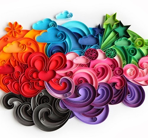 13-Quilling Portraits Russian Yulia Brodskaya Advertising -www-designstack-co