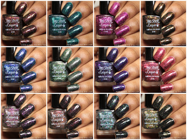 Top Shelf Lacquer Holiday Flake Out Collection