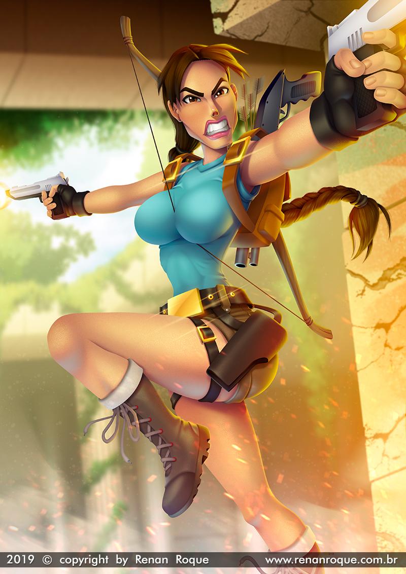 dfd7495781 Renan Roque: Lara Croft (Tomb Raider)