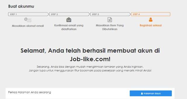 Cara Daftar akun jobs.co.id