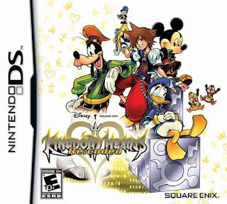 Kingdom Hearts Re: Coded, nds, español, mega