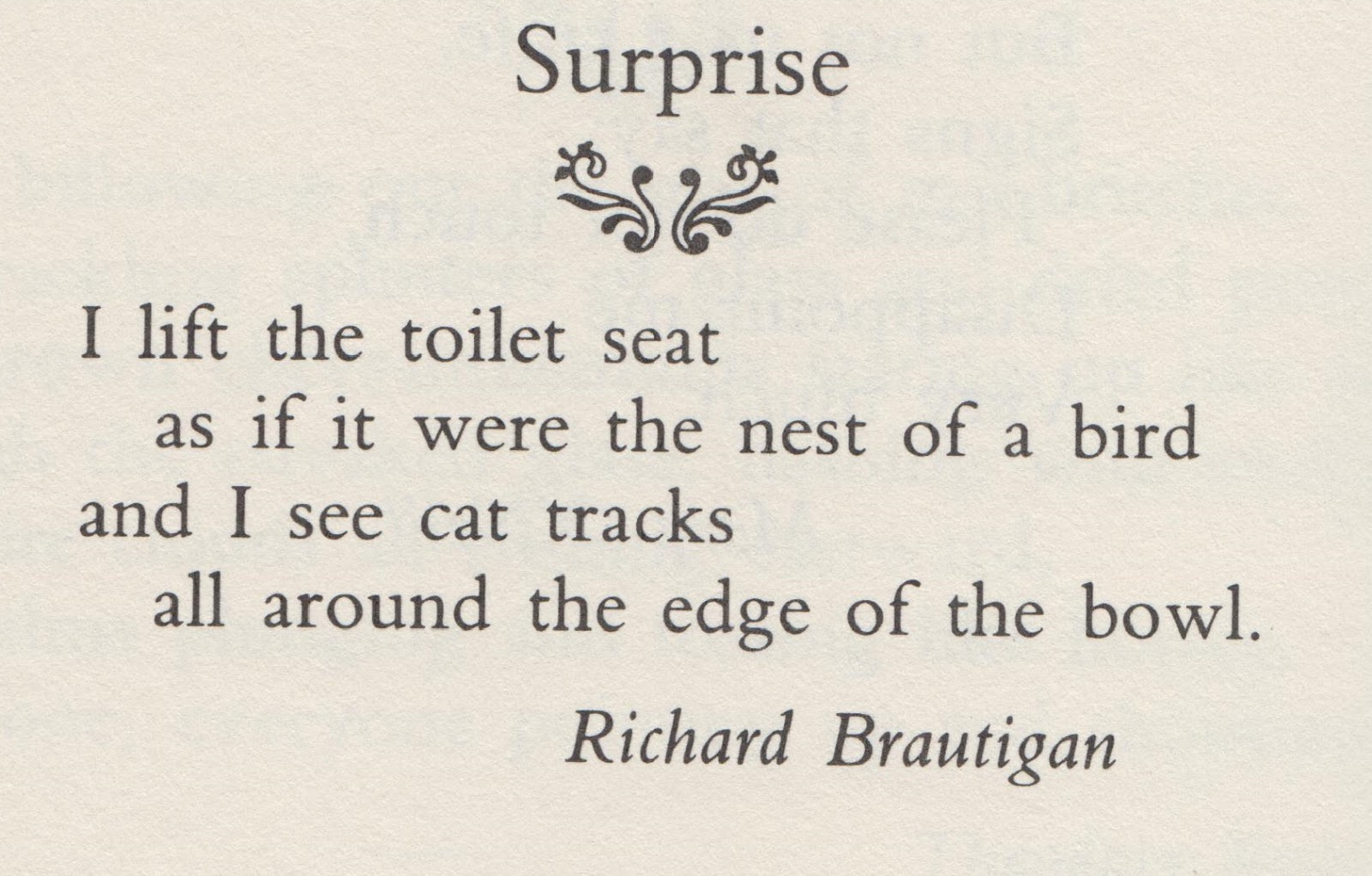 Richard Brautigan Poems 2