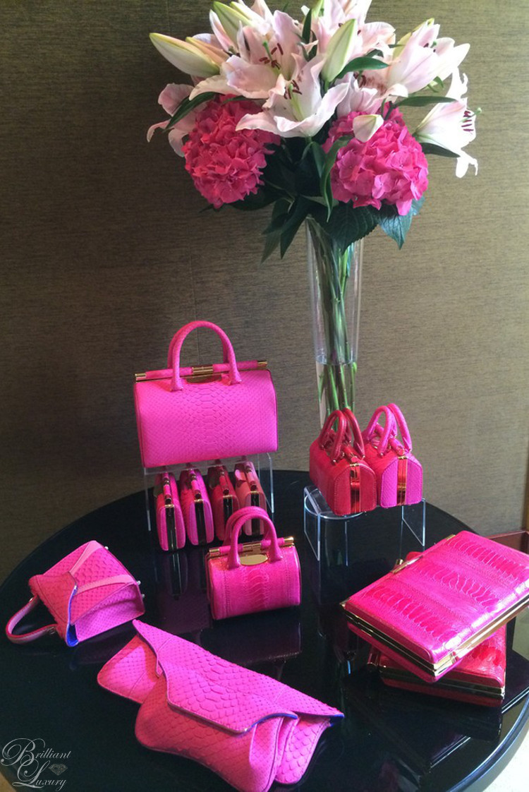 Brilliant Luxury ♦ Tyler Alexandra pink bag collection