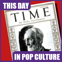 Time magazine published for the first time on March 3, 1923.