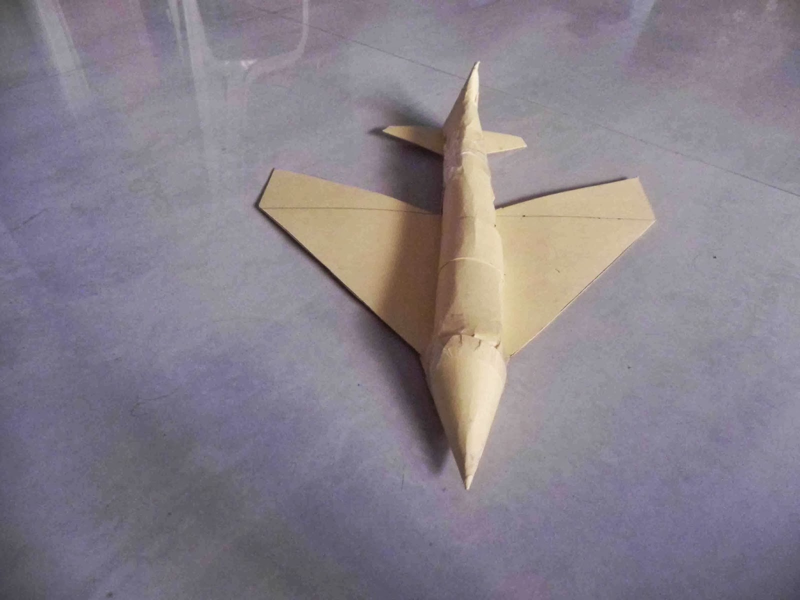 Art And Craft Ideas How To Make A Toy Aeroplane Step By Step At Home