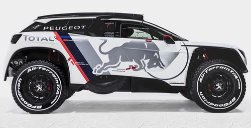 Tinuku.com Peugeot Total Red Bull team bring Peugeot 3008 DKR for 2017 Dakar challenge