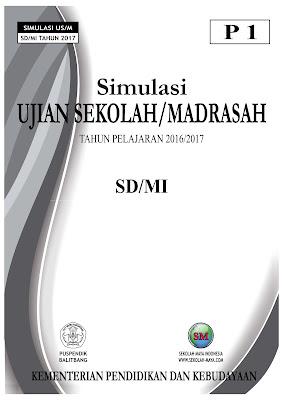 Download Soal Simulasi US/M SD/MI 2017 (File Ms.Word)