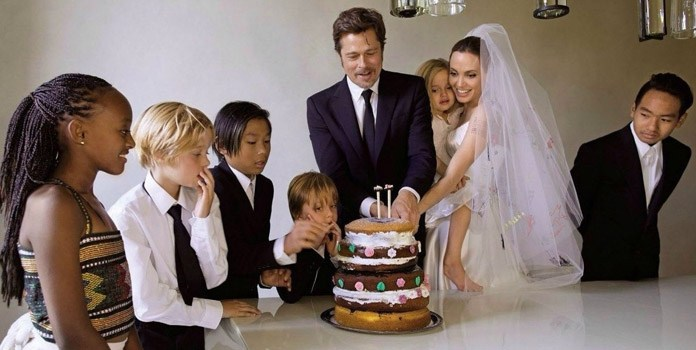 Brad Pit and Angelina Jolie Spend Time With Family | Famous Celebrity Bible