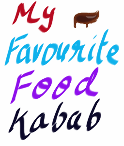 my favourite food kebab