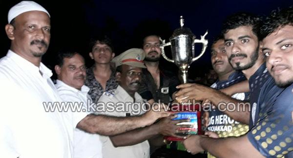 Bekal football: Young heroes Poochakkad champions