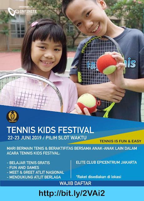 Tennis Kids Festival 2019 Ajang Menarik Bagi Anak-Anak Untuk Mengenal Tenis