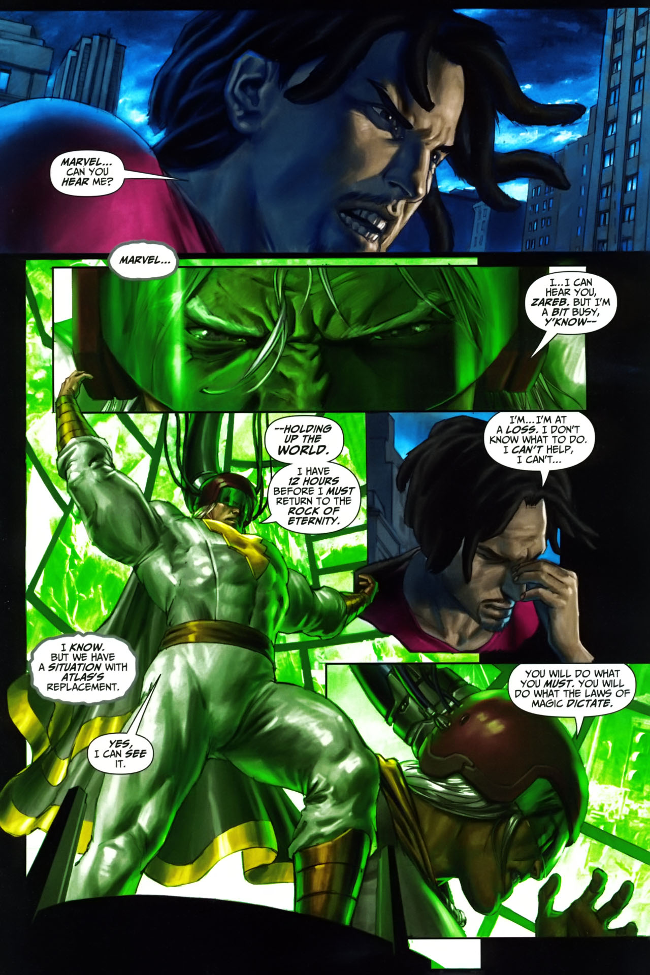 Read online Trials of Shazam comic -  Issue #9 - 2