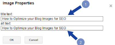 optimize blogger images