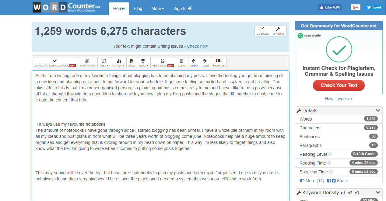 6 Free Blogging Tools For Bloggers Word Count
