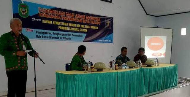Wali Kota Palopo Imbau Junjung Tinggi Hak Asasi