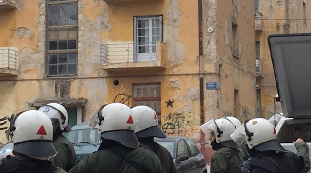Επεισόδια αντεξουσιαστών-ΜΑΤ στα προσφυγικά στη Λ. Αλεξάνδρας