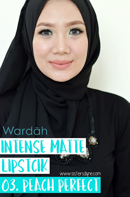 Wradah Intense Matte Lipstick Peach Perfect