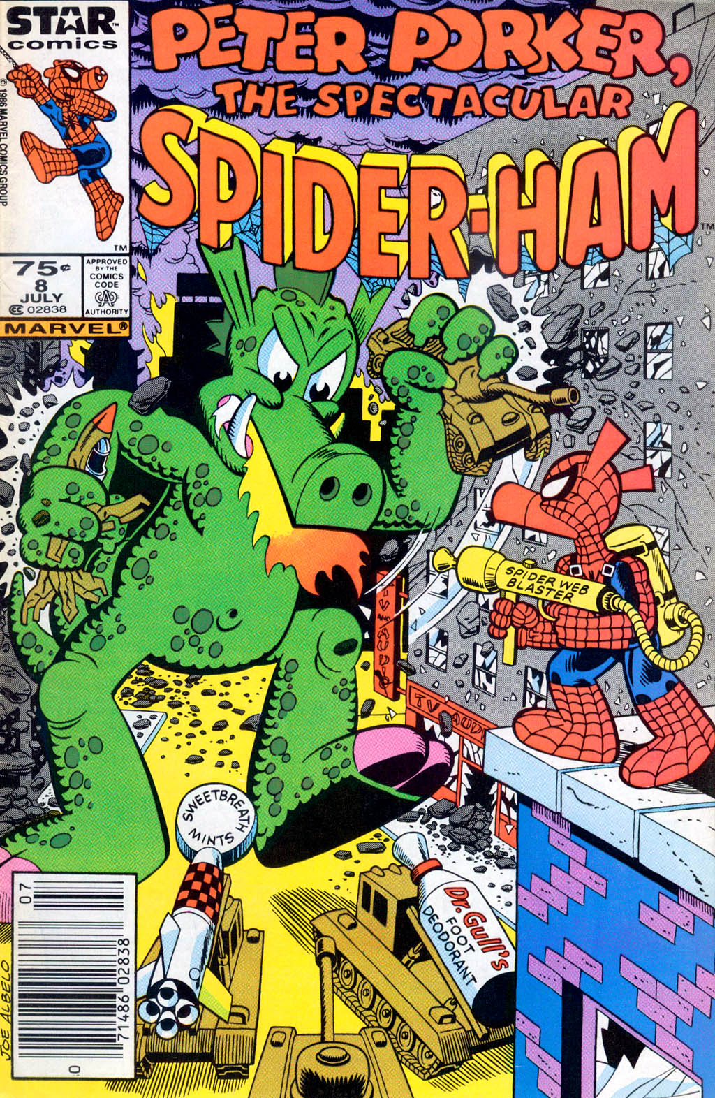 Peter Porker, The Spectacular Spider-Ham issue 8 - Page 1